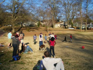 Adair Park Kickball Game