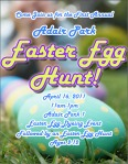 Easter Egg Hunt 2011 Flyer